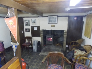 Fallcliffe Cottage snug